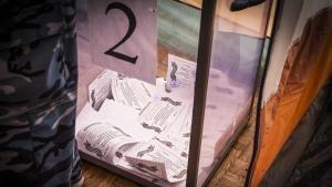 Украина, ЛНР, ДНР, Выборы, Жители, Голосование.