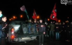 запорожье, памятник ленину, мвд украины, общество ,происшествие