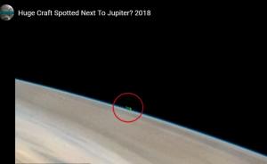 космос, США, НАСА, Юпитер, НЛО, кадры, сеть