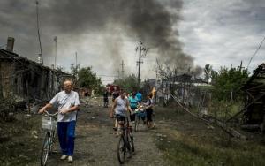 горловка, обстрел, ато, восток украины