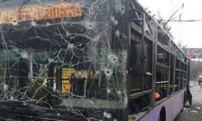 ОБСЕ, троллейбус, расследование, обстрел, погибли, люди, север