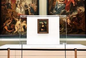 лувр, картина, джоконда, мона лиза, леонардо да винчи, происшествия, музей