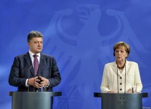 Порошенко, Меркель, ЕС, Минские соглашения, инвестиции, реформы, безвизовый режим