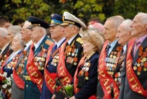 москва, празднование 9 мая, украинские ветераны