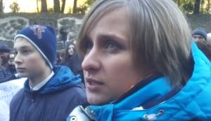 донбасс, юго-восток украины, ато, митинг, киев, новости украины, происшествия, беженцы