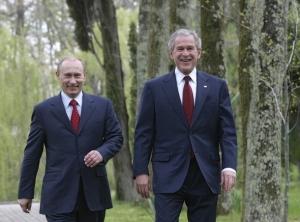 новости россии, владимир путин, джордж буш младший, новости сша