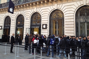 iphone 6, iPhone 6 Plus, apple, техника, общество, рекорд