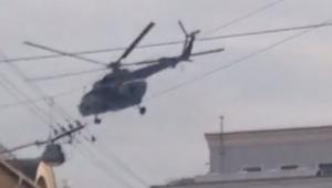 лубянка, москва, военные вертолеты