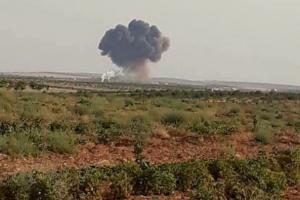 сирия, война, су-22, пилот, удар, истребитель