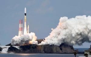 Астероид, спутник, японский, летит, путешествие, исследование