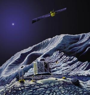 комета чурюмова-герасименко, зонд, розетта, фила, наука, космос