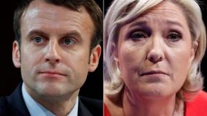 макрон, эммануэль макрон, ле пен, марин ле пен, франция, выборы в парламент франции, новости франции, путин, национальный фронт