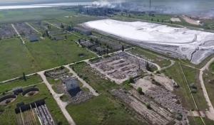 новости, Украина, Крым, Армянск, экологическая катастрофа, авария, кислотный выброс, отравление серной кислотой, кадры, фото, видео, эвакуация