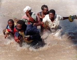 мозамбик, африка, наводнение, природные катаклизмы, общество, происшествие, погибшие