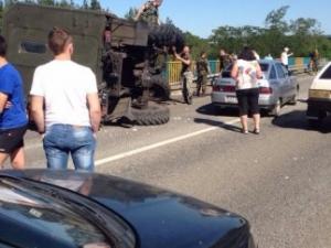 ДТП, под харьковом, МВД, Дорожно-транспортное происшествие, Военные