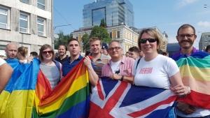 Украина,  политика, киев. гей-парад, британия