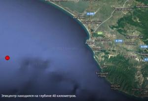 землетрясение, подземные толчки, море, анапа, природные катастрофы, новости россии