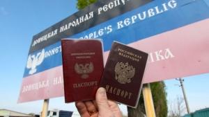 паспорт россии, луганск, донецк, донбасс, лнр, днр, россия, война на донбассе, путин, восток украины, украина