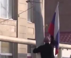 гюмри, россия, солдат, флаги