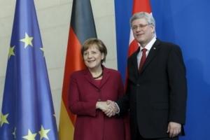 меркель, харпер, канада, саммит G7, борьба с терроризмом, кризис в украине