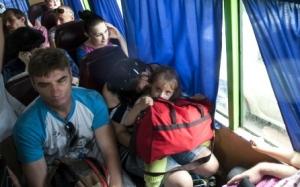 АТО, восточная Украина, Донбассс, беженцы, Россия