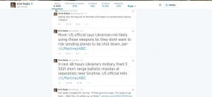 Снежное, ракеты, баллистические, США, украинская армия