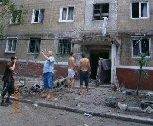 Горловка, АТО, жители
