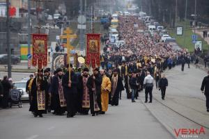 винница, крестный ход, коронавирус, церковь, упц, московский патриархат