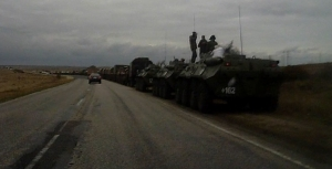 Передвижение техники, россия, крым, украина, БРТ, грузовики, Феодосия