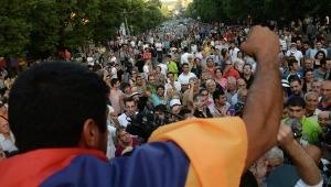протесты в ереване, армянский майдан, армения, ативисты в ереване