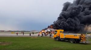 Россия, Происшествие, Пожар, Трагедия, Пивоваров, SuperJet-100.