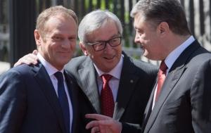 жан-клод юнкер, украина, ес, саммит