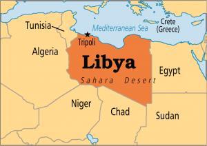 Ливия, терроризм, военные действия в Ливии, взрыв на пляже