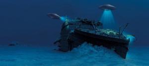 Титаник, крушение, корабль, происшествие, история, аномалия, гипотеза, пришельцы, НЛО, подводная база