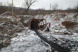 шахтерск, шахта, взрыв, оккупация, днр, донбасс