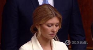 елена зеленская, фото, первая леди, супруга президента, инаугурация, владимир зеленский, украина