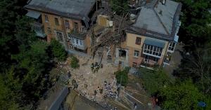 голосеевский район, киев, взрыв, погибшие, раненые, дом, обрушение дома, кадры, фото, видео, новости украины