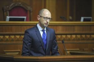 яценюк, кабинет министров, политика, общество, кредит