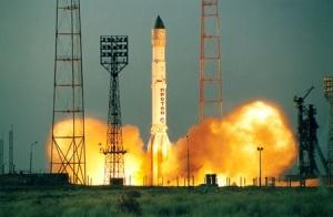 """ракета-носитель """"Протон-М"""", роскосмос, космос, наука и техника, казахстан ,байконур"""