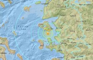 турция, греция, природная катастрофа, землетрясение, происшествие
