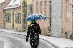 Украина,  погода, прогноз, снег, области