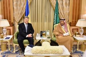 Украина, Петр Порошенко, Саудовская Аравия, Договоренности, Оборонная сфера