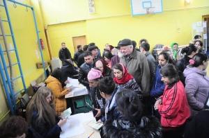 Украина, Кривой Рог, выборы, цыгане