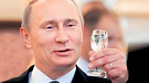 Россия, политика, путин, визит, водка, финляндия