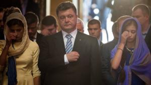 порошенко, молитва, пасха, праздник, мир, украина