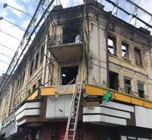 гастроном, пожар, крещатик, киев, фото, происшествия, новости украины