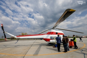вертолеты, запорожье, испытания, надія, украина, ми-2