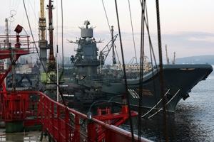 Учения, новости россии, северный флот, авианосец, адмирал кузнецов, крейсер