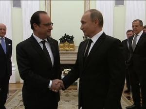 Путин, Олланд, встреча в Кремле, терроризм, ИГИЛ, новости ФРАНЦИИ, новости России