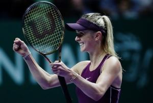 теннис, сингапур, свитолина, видео, матч, украина, победа, WTA, стивенс, первая ракетка